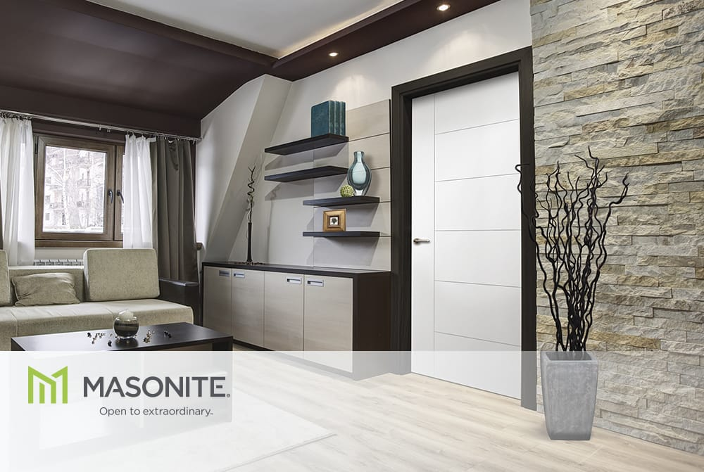 Huttig products articles make a safe bet on a sound choice Masonite safe n sound interior doors