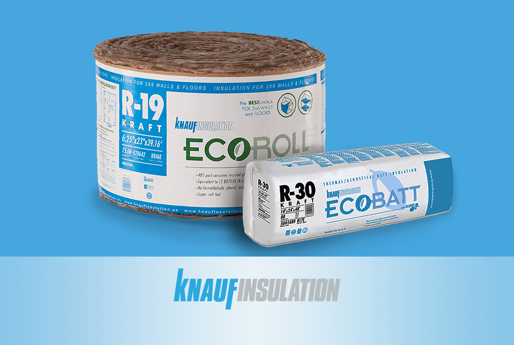 Huttig Products Articles Knauf Insulation Ecobatt 174 And