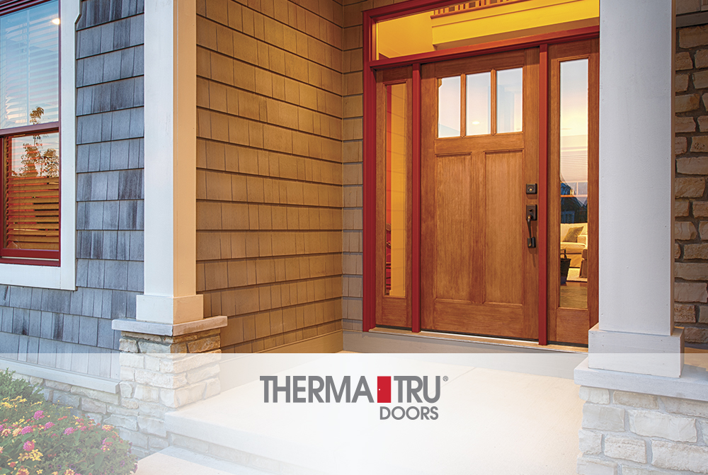 Therma Tru And Huttig Offer The Future Of Exterior Doors Today Clic Craft Premium Entryways Set Standard For Beauty Durability Thermal