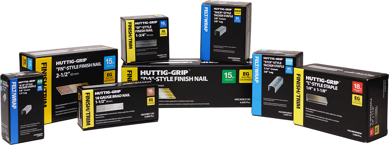 Huttig Grip products